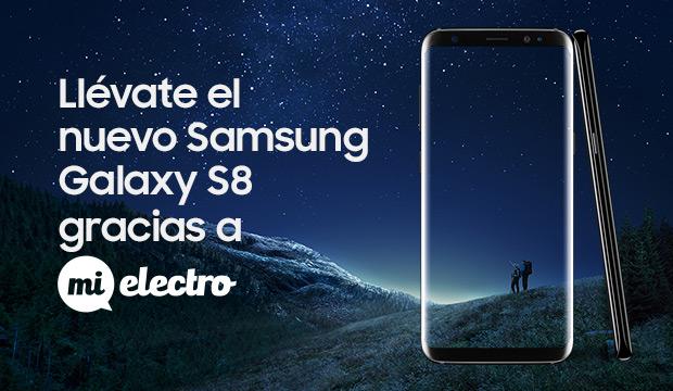 GANA EL NUEVO GALAXY S8 CON MIELECTRO