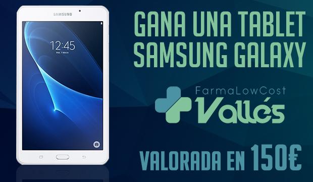 GANA UNA TABLET SAMSUNG GALAXY VALORADA EN 150€