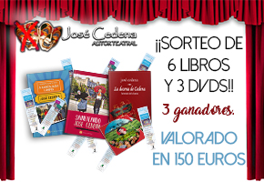 ¡¡CONSIGUE 6 LIBROS Y 3 DVDs DE JOSE CEDENA!!
