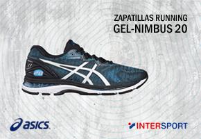 GANA UNAS ZAPATILLAS RUNNING ASICS 20 NIMBUS