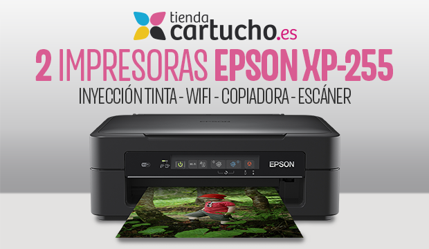 CONSIGUE TU MULTIFUNCIÓN EPSON EXPRESSION HOME XP-225