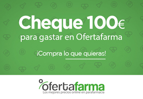 CHEQUE REGALO DE 100€ PARA OFERTAFARMA