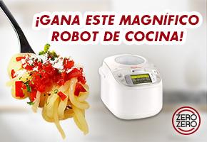 GANA 1 ROBOT DE COCINA Y ZERO ZERO QUE AYUDA A ADELGAZAR